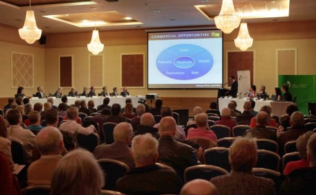 The B.A.I. hearing underway at the Radisson Hotel, Letterkenny on Monday.