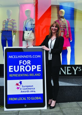 Roisin Woods, Marketing and e-Commerce Manager at McElhinney's.