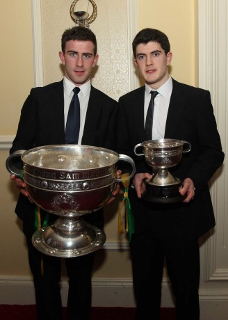 Patrick and Stephen McBrearty will hope to land the big silverware on Sunday.