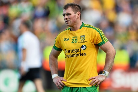 Dermot Molloy, pictured dejected at the end of the 2014 All-Ireland final. Picture credit: Ramsey Cardy / SPORTSFILE