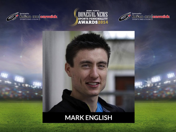 Overall Sports Personality Mark English