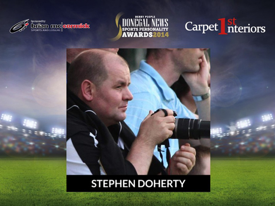 PRO of the Year Stephen Doherty