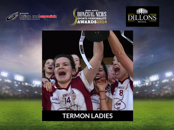 Team of the Year Termon Ladies