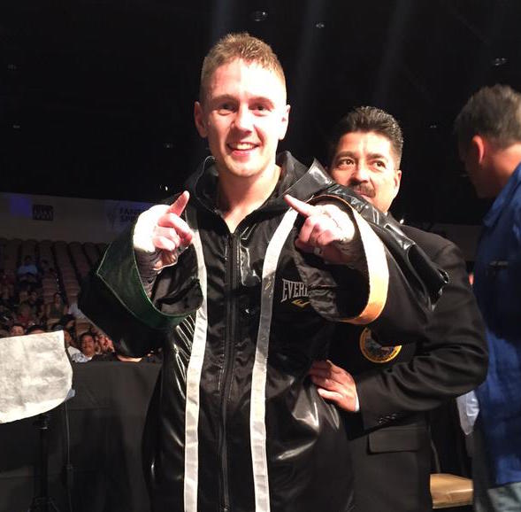 Jason Quigley after defeating Joshua Snyder.