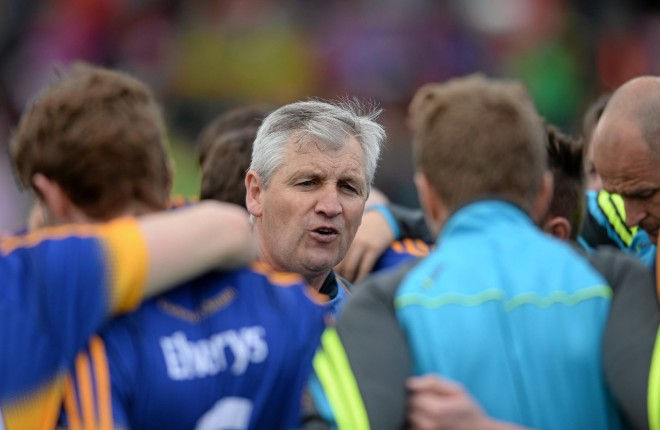 Tipperary manager Charlie McGeever