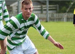 Rathmullan Celtic's Eoin Sheridan, who will play against Regional United on Sunday.