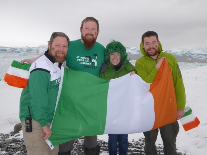 Pictured: left to right Robert Kennedy (Dublin) - Danny Mc Fadden (Donegal) - Anna Lawlor (Dublin) - Brian Mc Donnell (Cork & Mayo)