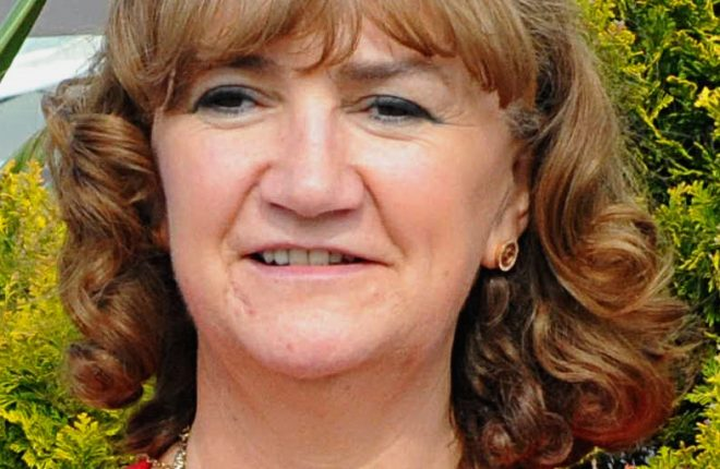 Mrs Martina Harkin-Kelly, who is the new President of the Irish Nurses and Midwives Organisation (INMO)