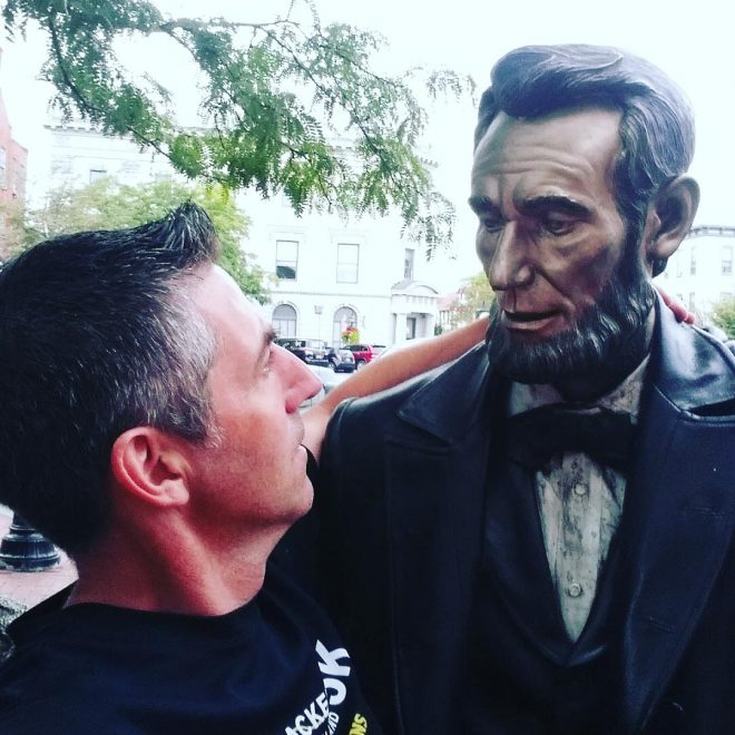 Meeting Abraham Lincoln in Gettysburg