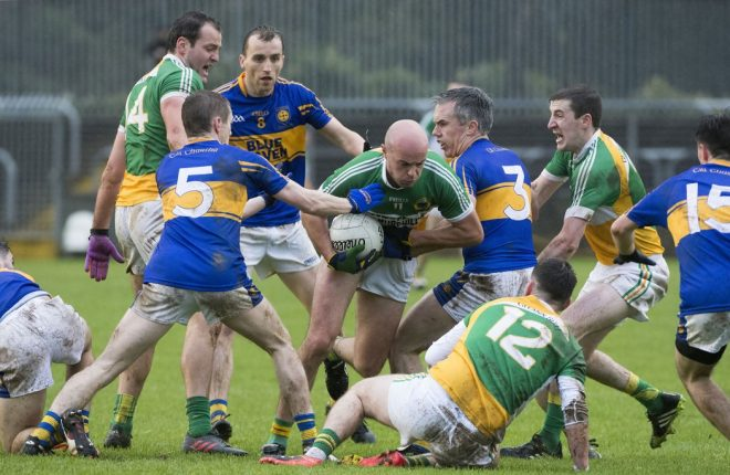 Cathal Gallagher in action in last week's Donegal SFC Final