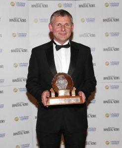 2016 Business Person of the Year Award, Eddie Tobin of Tobin's Service Station