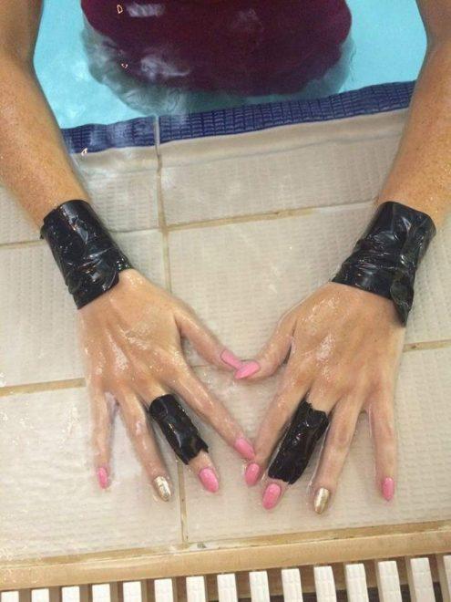 Nikki hands