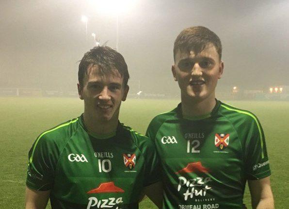 Peadar Mogan and Niall O'Donnell