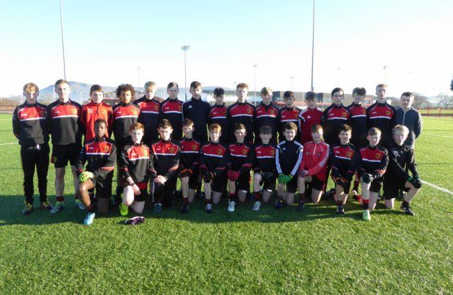 The St Eunan's College Loch an Iúir team