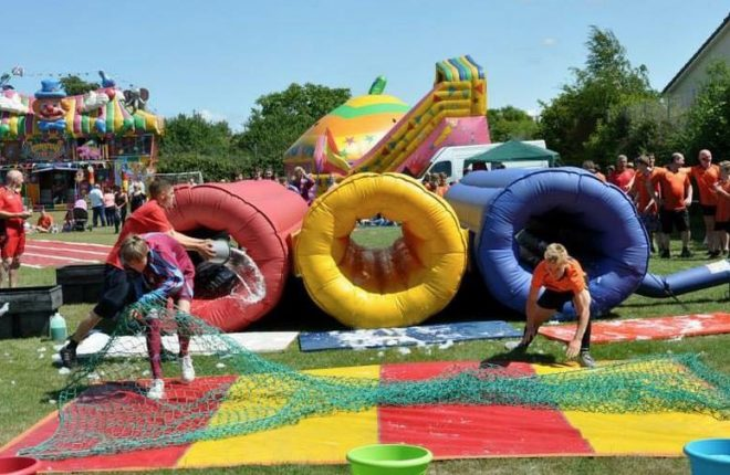 It's a Knockout fun is returning to St Eunan's College in Letterkenny.